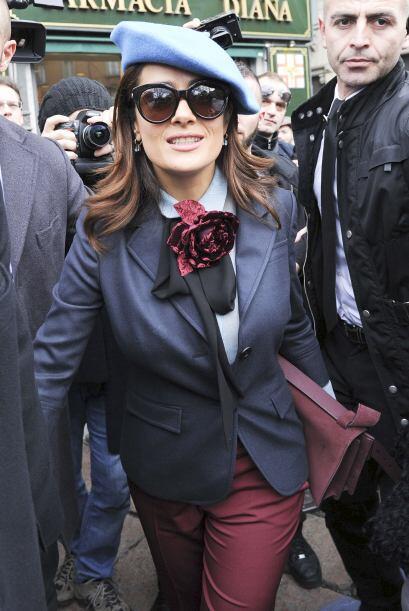 Salma es amante de la moda y muy unida a ella por las marcas de las que...