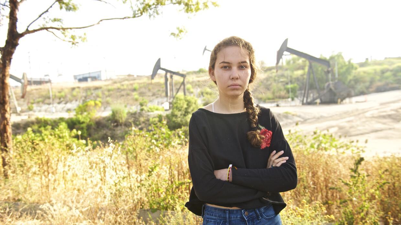 Nalleli Cobo, activista ambiental.