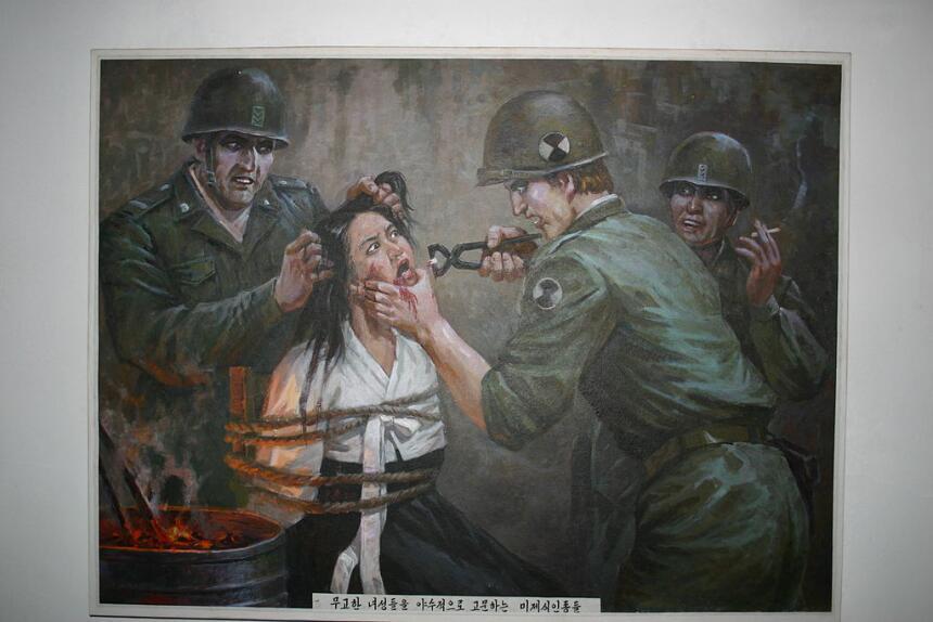 Las 8 curiosidades más extrañas de Corea del Norte  1024px-DPRK_Museum_p...