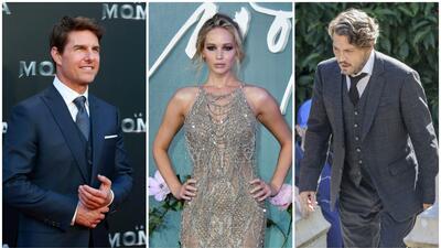 Tom Cruise, Jennifer Lawrence y Johnny Depp están entre los ganad...