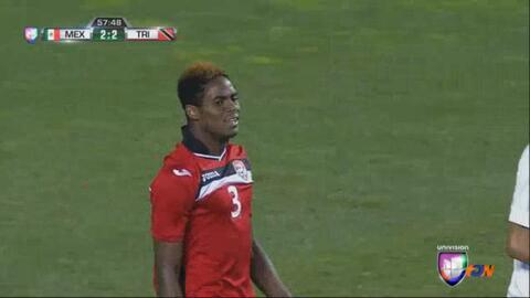 Joevin Jones fue el jugador del partido en México vs. Trinidad y Tobago