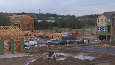 Un muerto y cinco heridos es el saldo del colapso de un conjunto de edificios en construcción