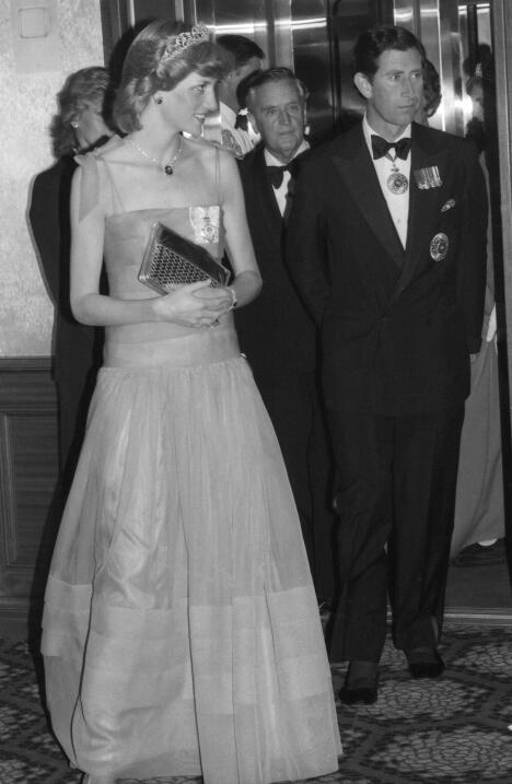 A finales de los 80 ya se notaba que la pareja tenía problemas y a princ...