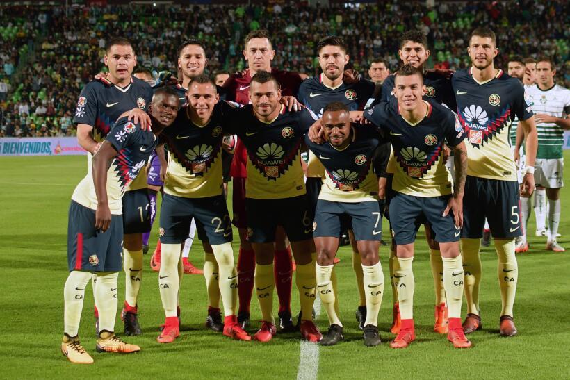 Con dedicatoria para Cruz Azul, América vence 1-0 a Santos 20171119-4444...