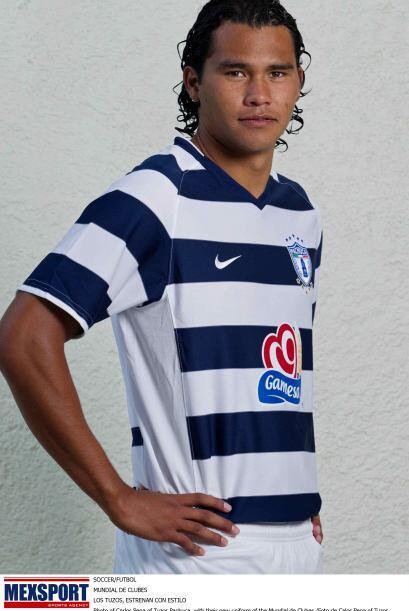Carlos Peña surgió de Pachuca, donde jugó entre 201...