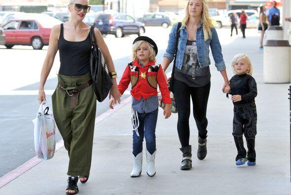 Ahora con la llegada de Apollo, su tercer hijo, Gwen necesitará más que...