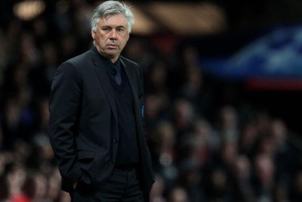 Pero los pupilos de Carlo Ancelotti no se daban por vencidos.