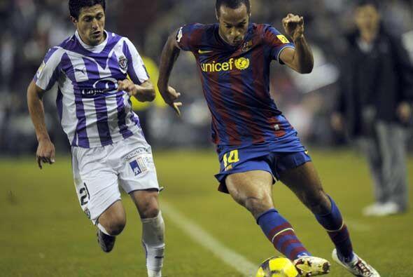 El Barcelona visitó al Real Valladolid buscando cerrar invicto la primer...