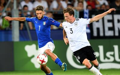 Italia vs. Alemania U-21