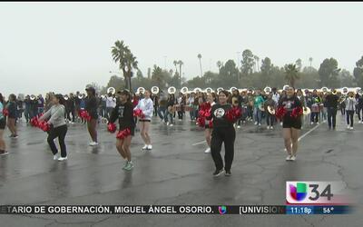 Honran a banda del Distrito Escolar Unificado de Los Ángeles