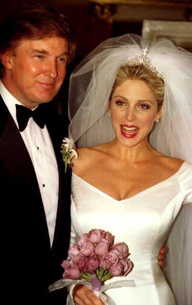 La guapa joven se casó con Donald, quien supuestamente le fue inf...