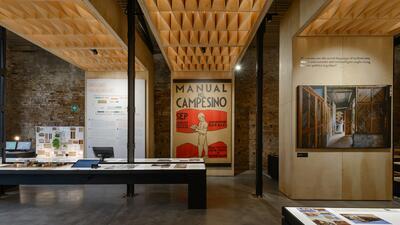 El pabellón de México, diseñado por la oficina Tuux.