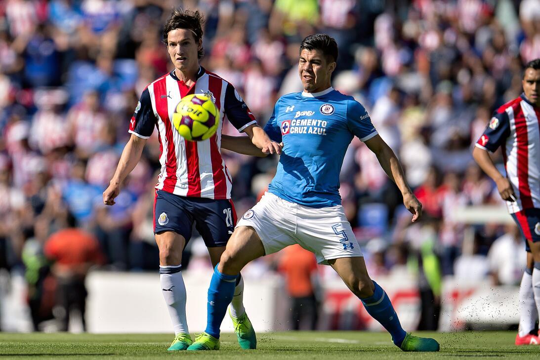 ¡Funcionó la Bruja! Cruz Azul venció 2-1 a Chivas Carlos Fierro Chivas y...