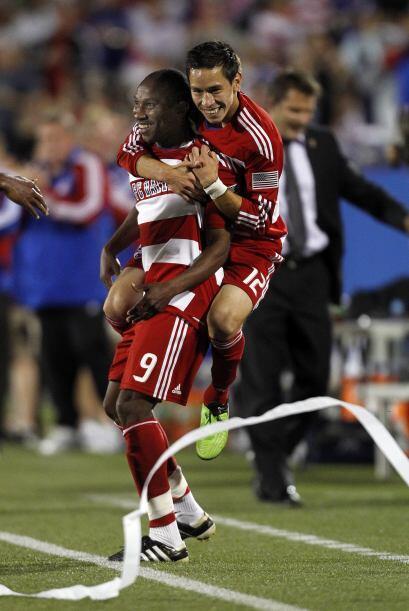 Esta temporada, Cunningham marcó su gol histórico número 132 en la MLS,...