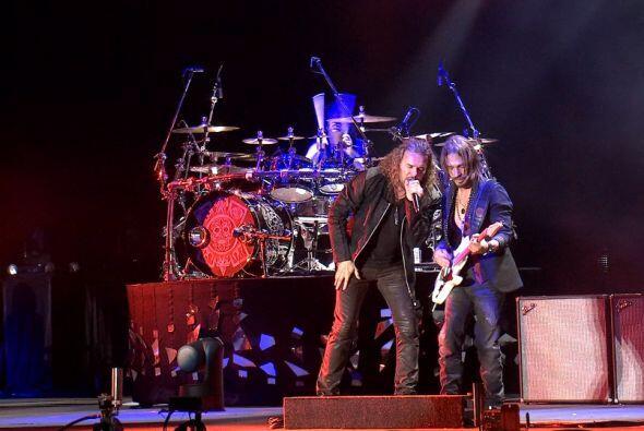 Fueron dos horas de concierto en el Puerto de Veracruz.