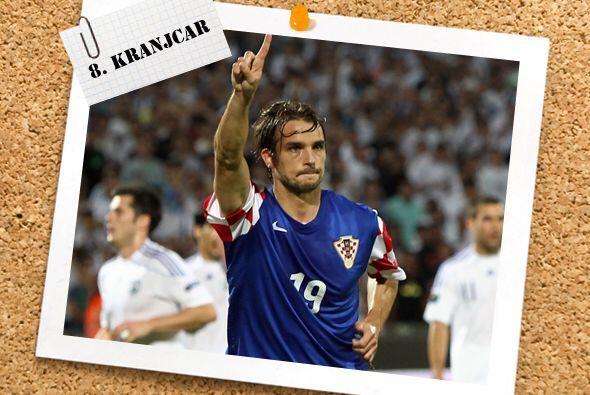 Otro de destacada actuación, pero con Croacia, fue Niko Kranjcar, quien...