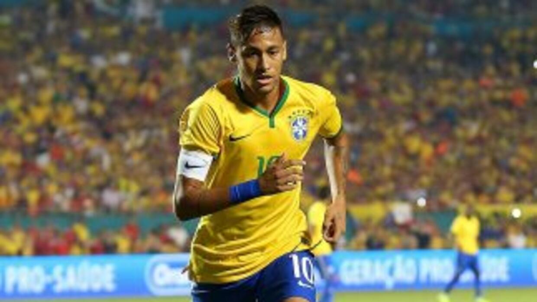 Neymar hizo el gol de la victoria de Brasil sobre Colombia.