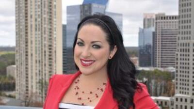 En en honor al primer aniversario de Noticias 34 Atlanta, la presentador...