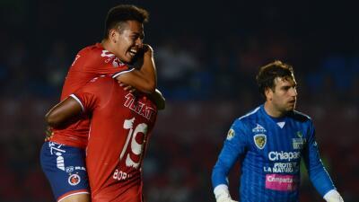 Sebastián Saucedo anotó el único gol del partido.