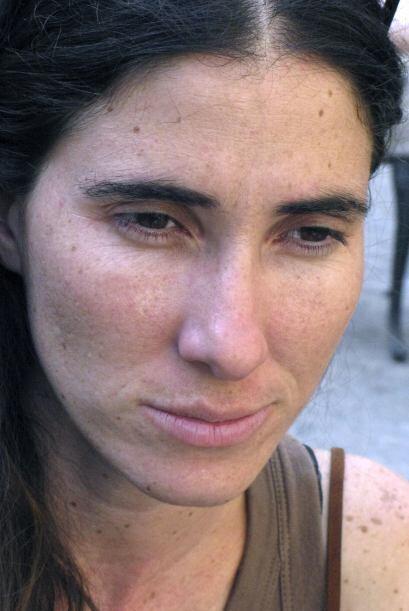 La bloguera cubana Yoani Sánchez denunció el martes que de...