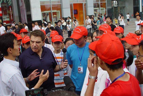 China tiene una política socialista que el Don pudo conocer en persona.