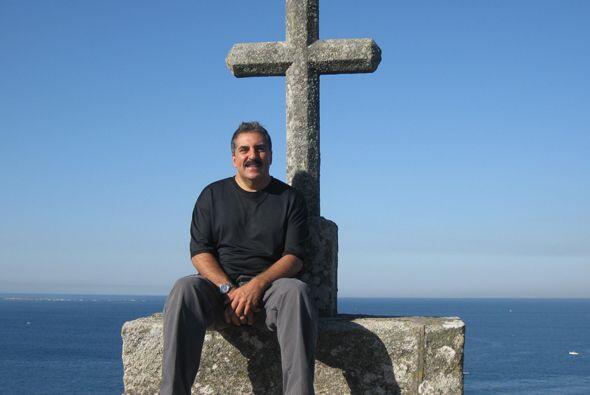 Un momento de paz en Galicia, España.
