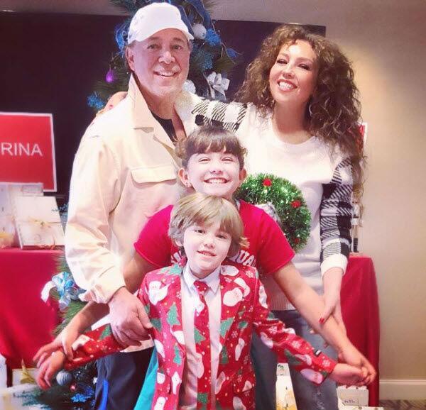 Thalía, Tommy Mottola y sus hijos