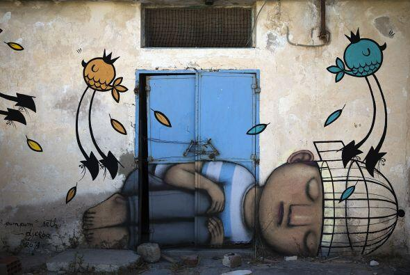 'The Djerbahood proyect' es una iniciativa artística impulsada po...