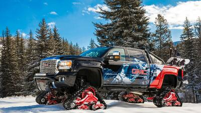 GMC Sierra 2500HD All Mountain