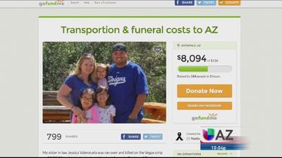 Continúa la conmoción por muerte de Arizonense en Las Vegas