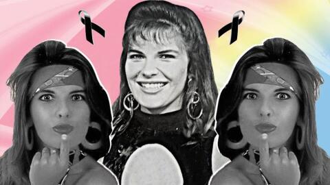 Mónica Santa María falleció el domingo 13 de marzo...