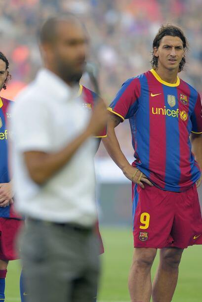Otro atacante con muy pocos 'pelos en la lengua' es el sueco Zlatan Ibra...