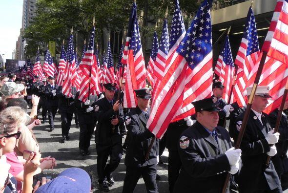 Bomberos del 9/11 honrados en San Patricio 92e62752a41f4aa6951beaf5b2152...
