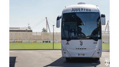 ¡De lujo! El camión de la Juventus en el que andará Cristiano Ronaldo