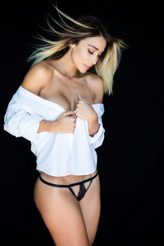 Valeria Moreno, la sensual y seductora propietaria de una figura escultu...