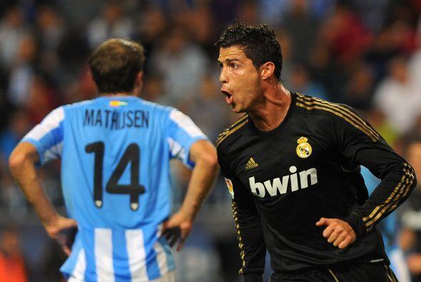 Y el ataque comienza con uno de sus futbolistas favoritos, Cristiano Ron...