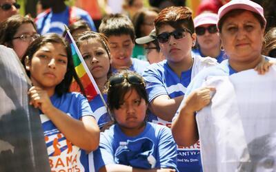 La Acción Diferida del 2012 amparaba de la deportación a u...