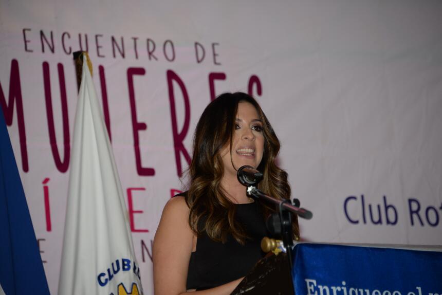 Maity Interiano encuentro de Mujeres Líderes de Honduras