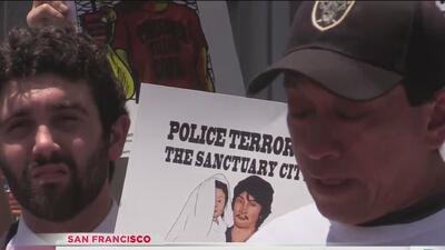 Protestan contra fiscal y buscan cargos contra oficiales