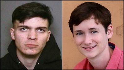 Samuel Woodward, de 20 años, y Blaze Bernstein, de 19.