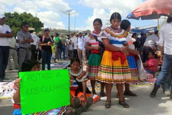 En el estado de Guerrero también se realizaron diversas marchas exigiend...