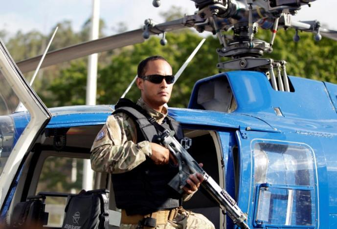 Oscar Perez, 36, a police pilot named as the mastermind of the raid by...