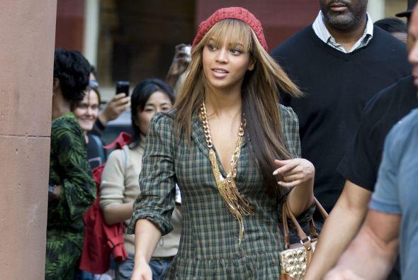 Beyoncé tenía unas piernas lindas, pero últimamente se ha dejado ver con...
