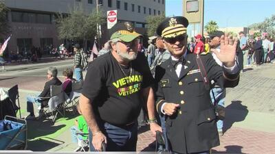 Conmemoran el día de los veteranos en Tucson
