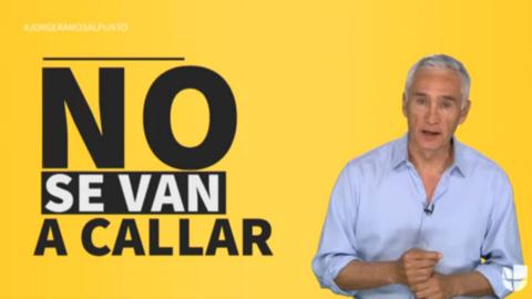 """Jorge Ramos: """"Los periodistas que se juegan la vida en México no se van..."""