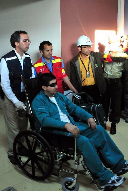 Rojas se desempeñaba como jefe de mantenimiento en la mina de San José.