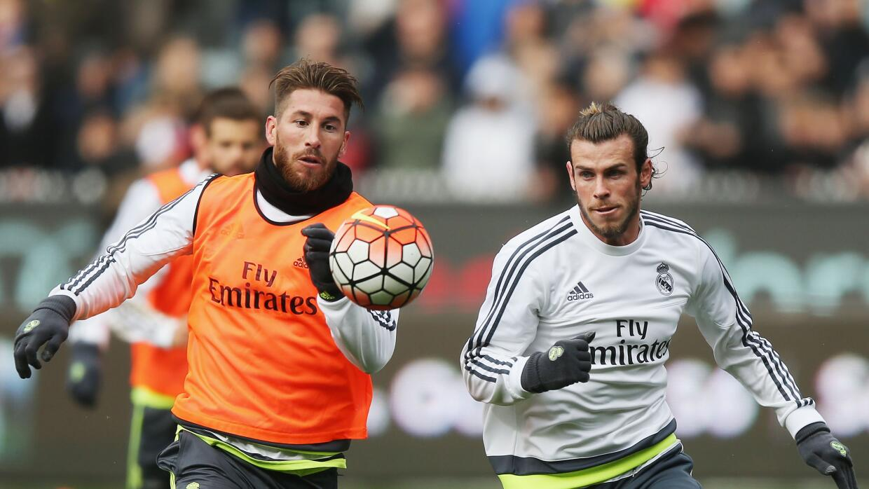 Sergio Ramos y Gareth Bale