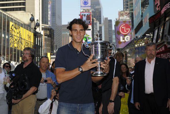 El español es el tenista masculino más joven de la historia en conseguir...