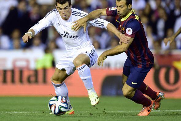 El galés Gareth Bale lucía como el jugador que debía ser el líder del ma...