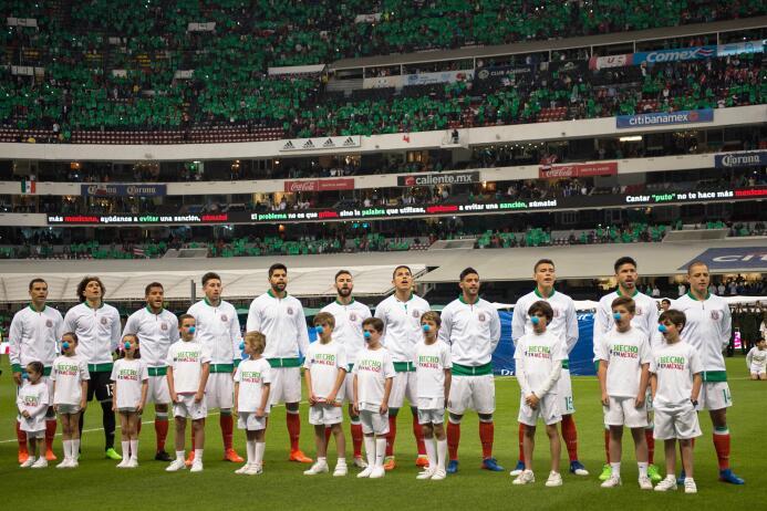 El Aztecazo fue verde y lo dio México: Así fue el color del partido 2017...